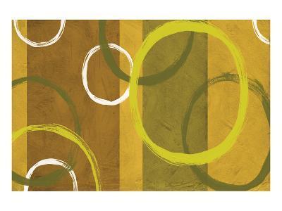Rings and Stripes II-Franz Kandiny-Art Print