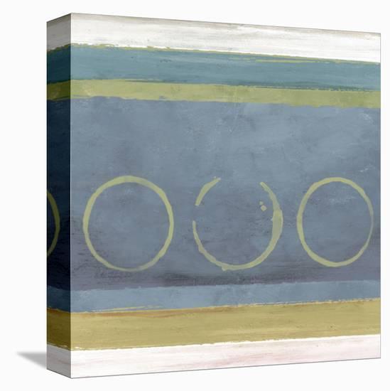 Rings I-Felix Latsch-Stretched Canvas Print