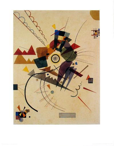 Ringsum 1924-Wassily Kandinsky-Art Print