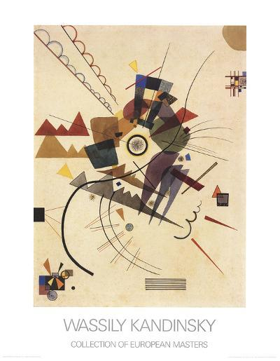 Ringsum-Wassily Kandinsky-Collectable Print