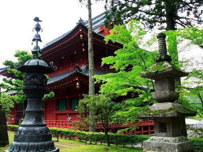 Rinnoji Temple--Photographic Print