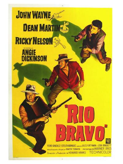 Rio Bravo, Australian Movie Poster, 1959--Art Print