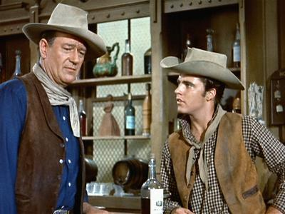 Rio Bravo, John Wayne, Ricky Nelson, 1959--Photo