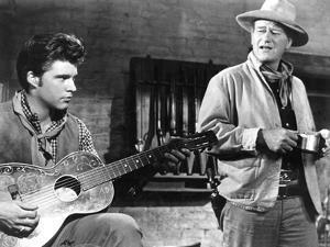 Rio Bravo, Ricky Nelson, John Wayne, 1959