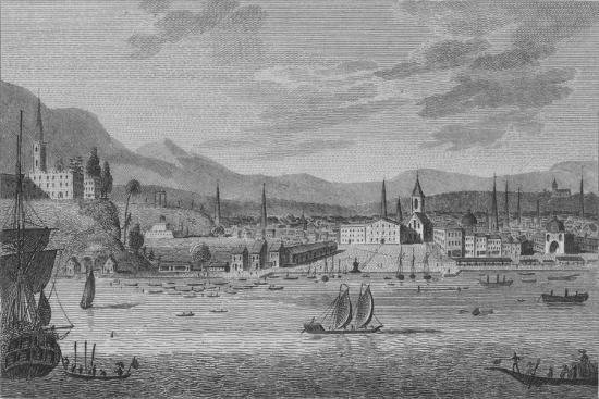 'Rio De Janeiro', 1809-Unknown-Giclee Print