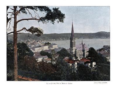 Rio De Janeiro, Brazil, 19th Century- Gillot-Giclee Print