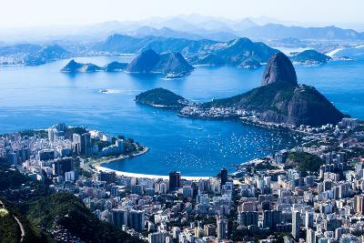 Rio De Janeiro, Brazil. Suggar Loaf And Botafogo Beach Viewed From Corcovado-Mariusz Prusaczyk-Photographic Print