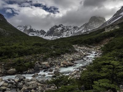 Rio Del Frances in Torres Del Paine National Park-Jay Dickman-Photographic Print