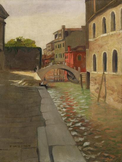 Rio Della Salute, Venice, c.1902 Giclee Print by Félix Vallotton | Art.com