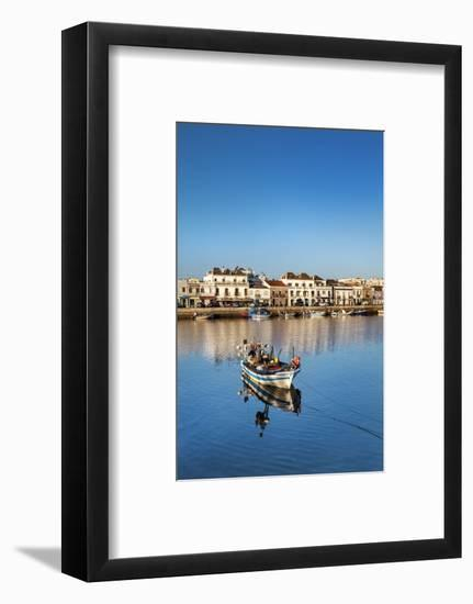 Rio Gilao, Tavira, Algarve, Portugal-Sabine Lubenow-Framed Photographic Print