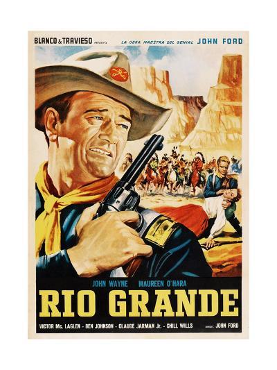 Rio Grande, John Wayne, 1950--Giclee Print