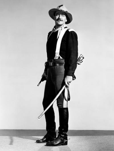 Rio Grande, John Wayne, 1950--Photo