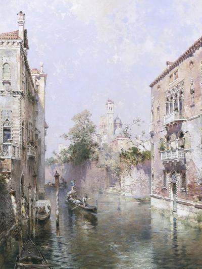 Rio San Bernardo, Venice-Franz Richard Unterberger-Giclee Print