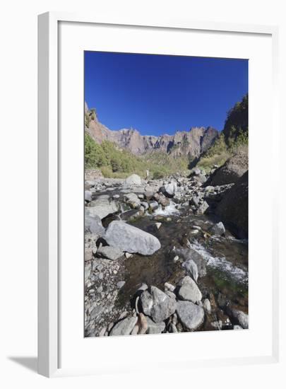 Rio Taburiente River, Parque Nacional De La Caldera De Taburiente, Canary Islands-Markus Lange-Framed Photographic Print