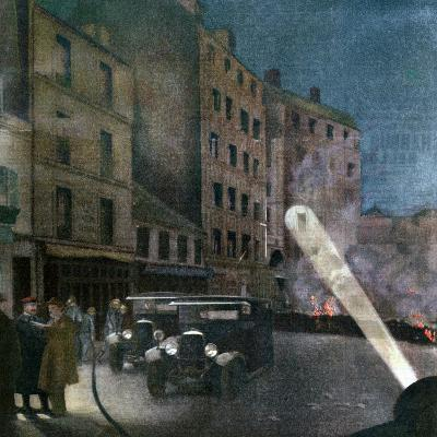Riot on Rue Nationale, Paris, 1934--Giclee Print