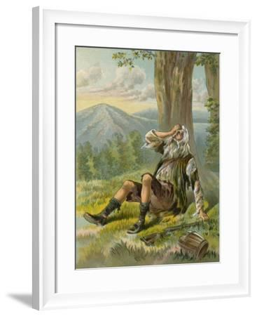 Rip Awakes from His Long Slumber--Framed Giclee Print