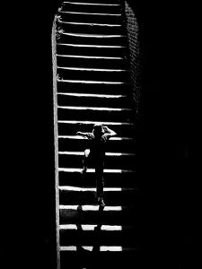 A Child Climbing Stairs by Rip Smith