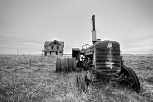 Old Abandoned Tractor by Rip Smith