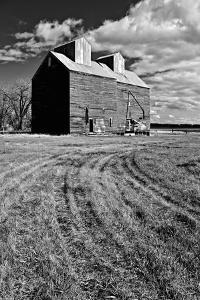 Old Farm Buildings by Rip Smith