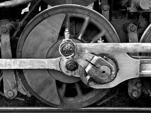 The Wheel of a Train by Rip Smith