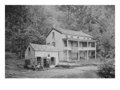 Rip Van Winkle House, Sleepy Hollow, Catskill Mountains, N.Y.--Art Print
