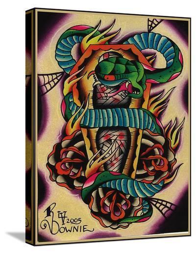 RIP-Ryan Downie-Stretched Canvas Print