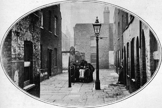 Ripe for eviction, London, c1901 (1901)-Unknown-Photographic Print