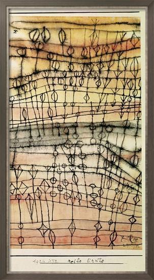 Ripe Harvest, 1924-Paul Klee-Framed Giclee Print