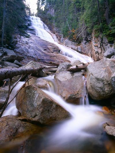 Ripley Falls, New Hampshire-George Oze-Photographic Print