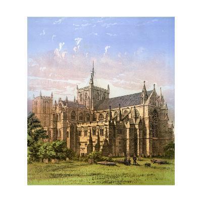 Ripon Cathedral, Yorkshire, C1870- Hanhart-Giclee Print