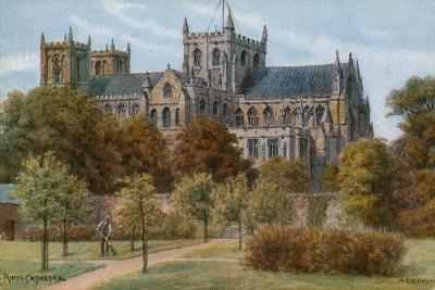 Ripon Cathedral-Alfred Robert Quinton-Giclee Print