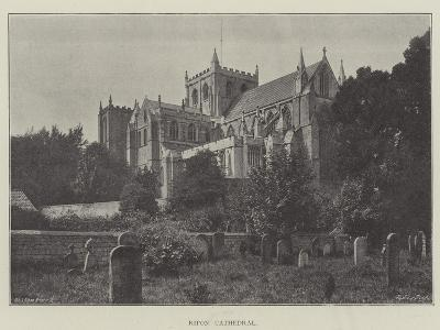 Ripon Cathedral--Giclee Print