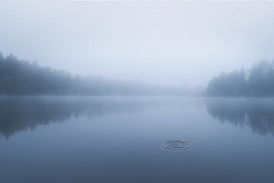 Ripple in the water-Christian Lindsten-Photographic Print