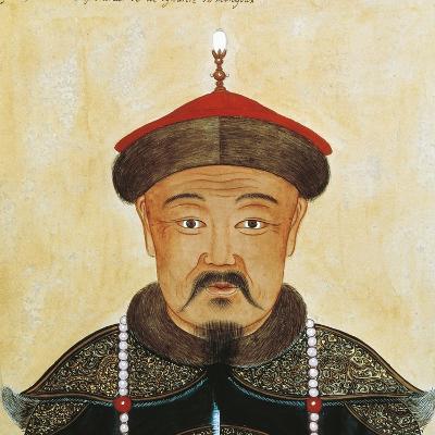 Rirtatto of Kublai Khan or Shizu--Giclee Print