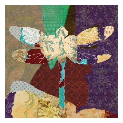 Rise Above Dragonfly 2-Taylor Greene-Art Print