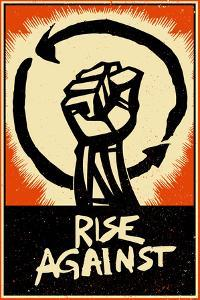 Rise Against - Poster Fist