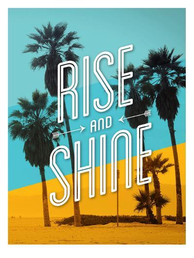 Rise and Shine Beach-Brett Wilson-Art Print