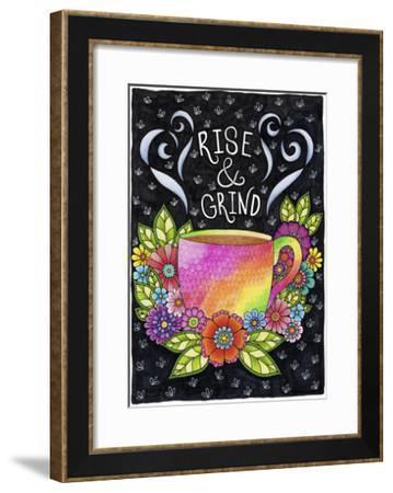 Rise & Grind - Color-Hello Angel-Framed Giclee Print