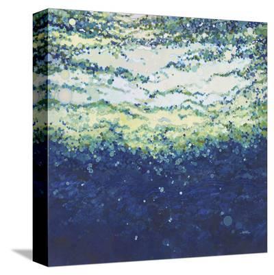 Rising Indigo Sea-Margaret Juul-Stretched Canvas Print