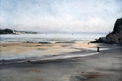 Rising Tide on Saturday Morning, 1876-Emmanuel Lansyer-Giclee Print