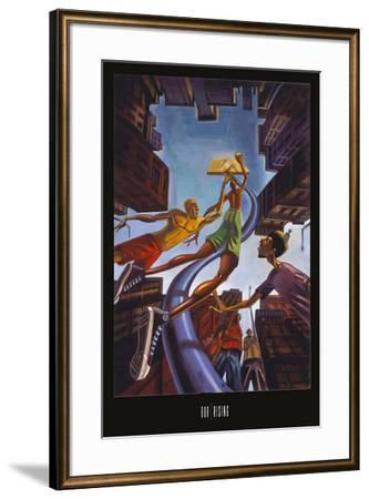Rising-BUA-Framed Art Print
