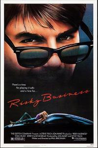 Risky Business, Tom Cruise, Rebecca De Mornay, 1983. © Warner Bros. Courtesy: Everett Collection