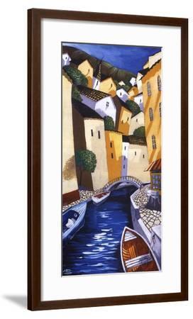 Ristorante-Miguel Freitas-Framed Art Print