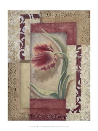 Red Tulip Collage I