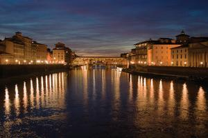 Florence Reflections I by Rita Crane