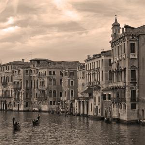 Gondolas and Palazzos III by Rita Crane