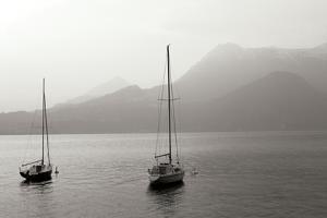 Lake Como Sailboats I by Rita Crane