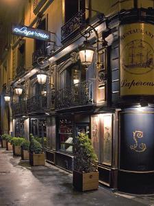 Paris Cafe III by Rita Crane