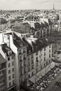 Paris Rooftops V by Rita Crane