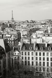 Paris Rooftops VI by Rita Crane